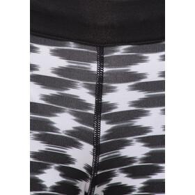 Nike Printed Relay Crop black/refsil